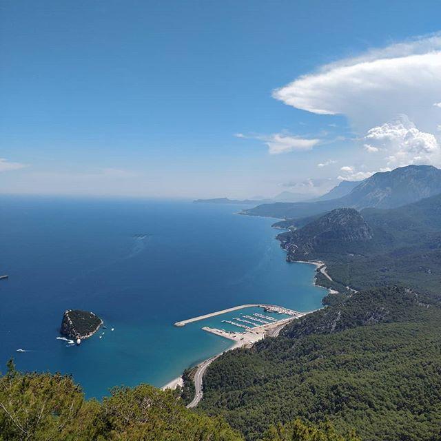 Анталия, гора Тюнектепе, вид на море