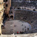 Сцена амфитеатра