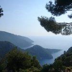 Вид на море с высоты