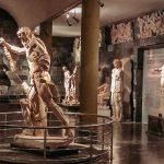Зал с мраморными статуями
