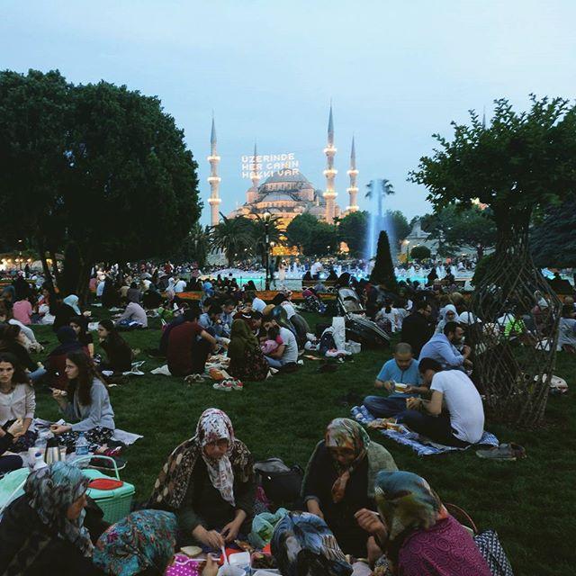 Рамазан ифтар, Турция