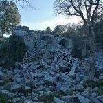 Руины города